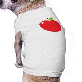 An Apple For Teacher Doggie Tee Shirt
