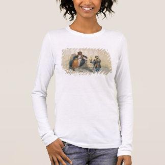 An Arab Sheikh Smoking, illustration from 'The Val Long Sleeve T-Shirt