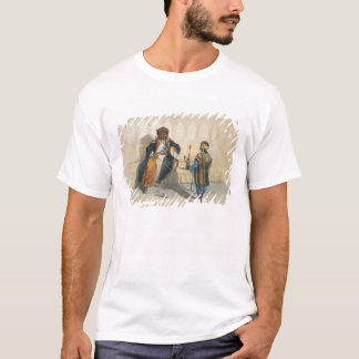 An Arab Sheikh Smoking, illustration from 'The Val T-Shirt