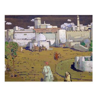 An Arab Town, 1905 Postcard