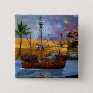 An Arabian Adventure 15 Cm Square Badge