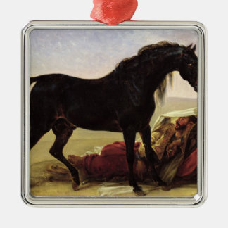 An Arabian Horse Christmas Ornament