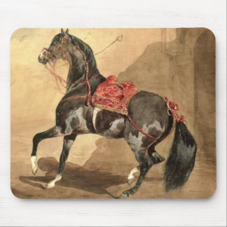 An Arabian Horse (w/c laid down on paper) Mouse Mat