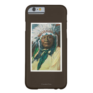 An Arapahoe Indian Chief PortraitColorado Barely There iPhone 6 Case