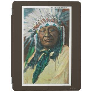An Arapahoe Indian Chief PortraitColorado iPad Cover