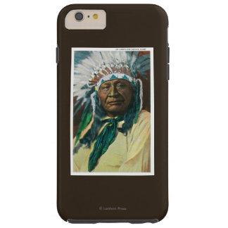 An Arapahoe Indian Chief PortraitColorado Tough iPhone 6 Plus Case