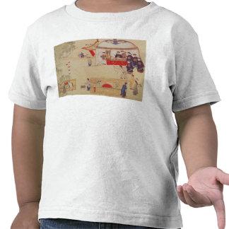 An archery contest late 18th century tee shirt