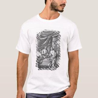 An Argument Between Cartographers, illustration fr T-Shirt