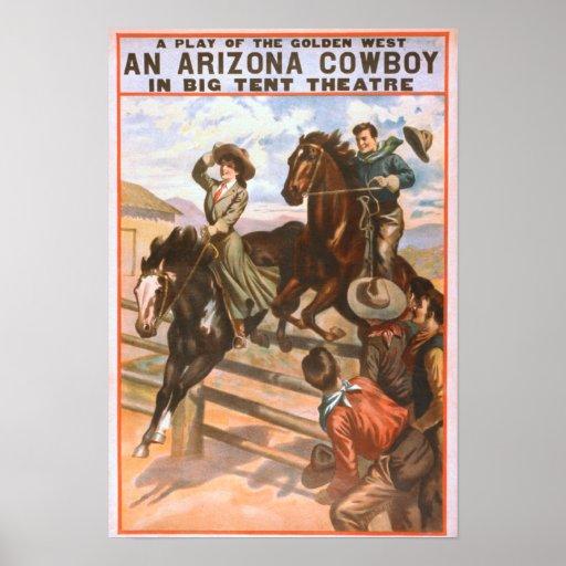 An Arizona Cowboy in Big Tent Theatre Poster