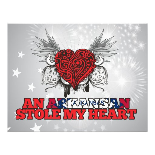 An Arkansan Stole my Heart Flyer