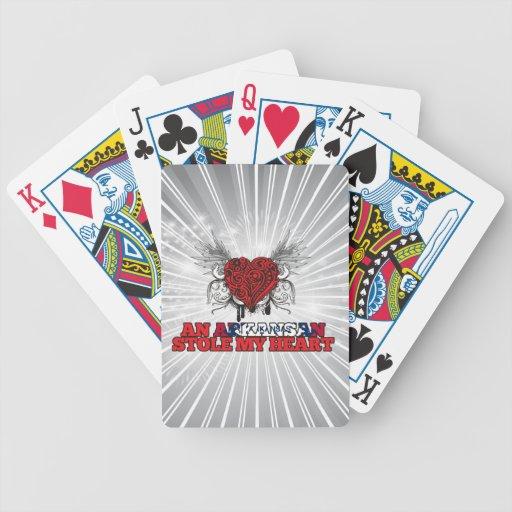 An Arkansan Stole my Heart Deck Of Cards