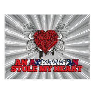 An Arkansan Stole my Heart Postcard