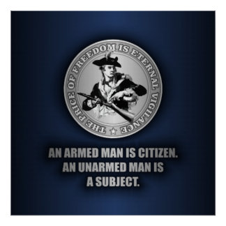 An Armed Citizen Poster