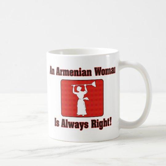 An Armenian Woman Is Always Right Coffee Mug