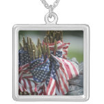 An Army soldier's backpack Personalized Necklace