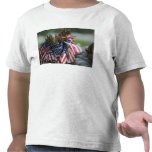 An Army soldier's backpack Tee Shirt