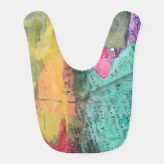 An Arsty Bib that is Colorful and Stands Out