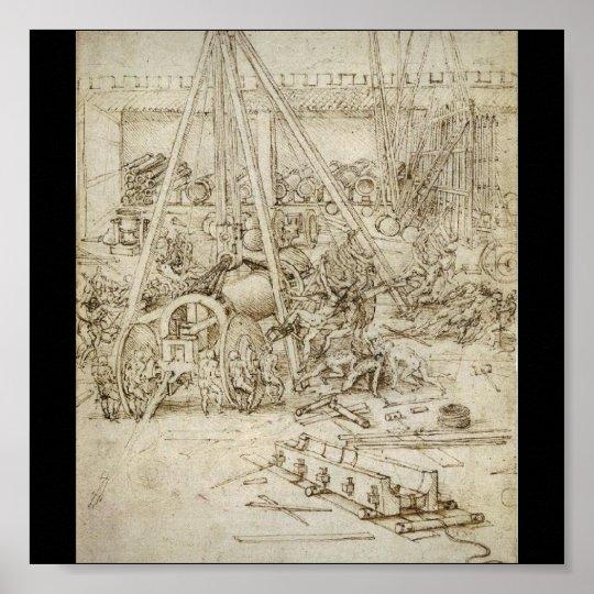 An Artillery Park (c. 1487) by Leonardo da