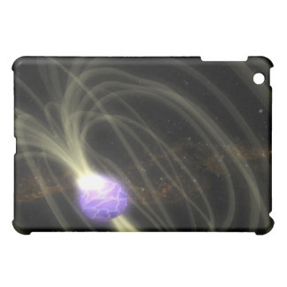 An artist conception of the SGR 1806-20 magneta Case For The iPad Mini