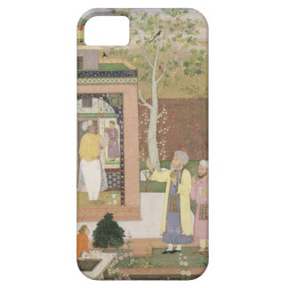An artist decorating the interior of a garden pavi iPhone 5 cover