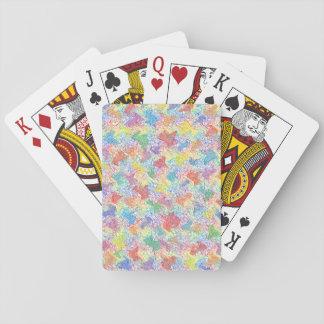 An Artist's Palette Poker Deck