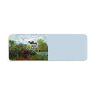 An Artist's Garden Return Address Labels