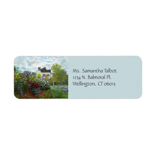 An Artist's Garden Return Address Labels