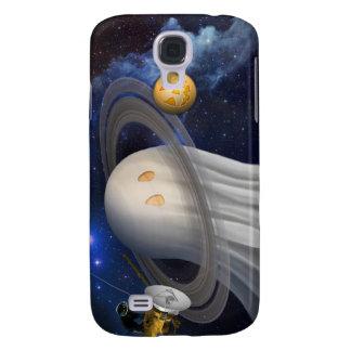 An artist's Halloween illustration Galaxy S4 Case