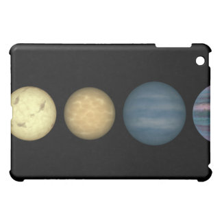 An artist's rendition comparing brown dwarfs 2 iPad mini covers