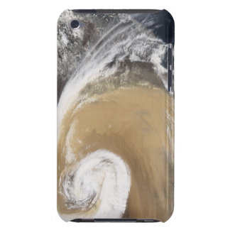 An Asian dust storm crosses the Pacific Barely There iPod Cases