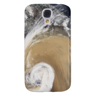 An Asian dust storm crosses the Pacific Galaxy S4 Case
