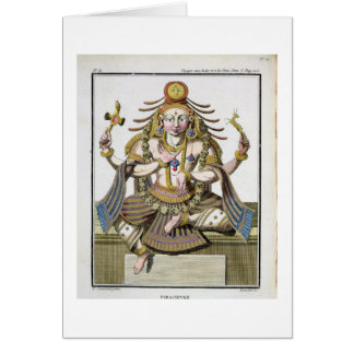 An aspect of Shiva, from 'Voyage aux Indes et a la Card