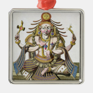 An aspect of Shiva, from 'Voyage aux Indes et a la Christmas Ornament
