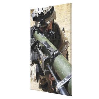 An assaultman canvas print