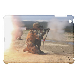 An assaultman fires a Rocket Propelled Grenade iPad Mini Covers