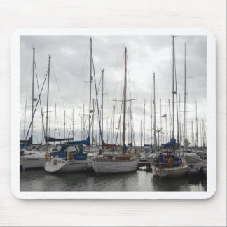 An Assortment of Yachts Mouse Pad