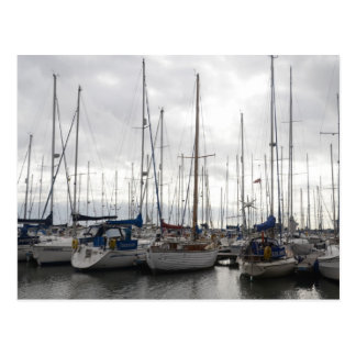 An Assortment of Yachts Post Cards