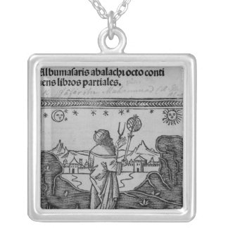 An Astronomer stargazing Necklace