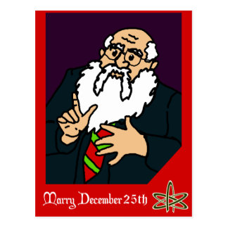 An Atheist Christmas Card Postcards