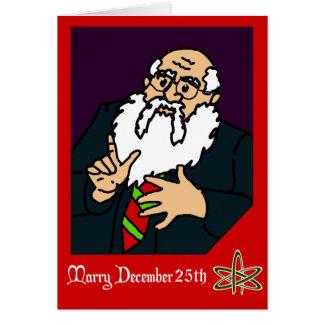 An Atheist Christmas Greeting Greeting Card