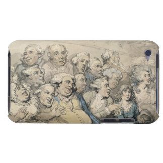 An Audience at Drury Lane Theatre (pen & ink and w iPod Case-Mate Case