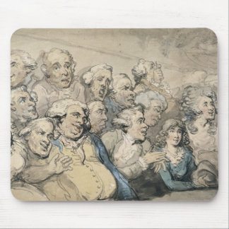 An Audience at Drury Lane Theatre (pen & ink and w Mouse Mat