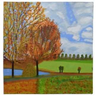 An Autumn Walk Napkin