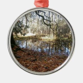 An Autumn woodland scene Christmas Ornament