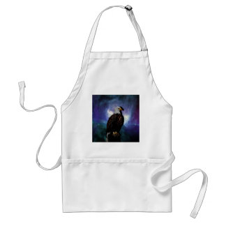 An eagle in the mirror standard apron