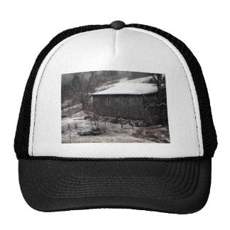 An Early Morning Snowstorm In Scott County, Virgin Hat