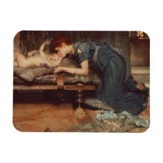 An Earthly Paradise 1891 oil on canvas Rectangular Magnets