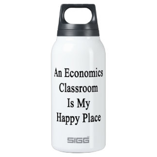 An Economics Classroom Is My Happy Place