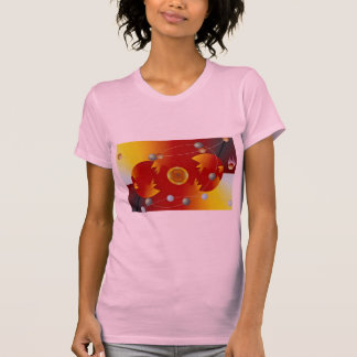 An egg and a meteor dimension t-shirt