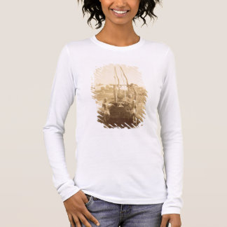 An Egyptian Irrigation Machine on the Banks of the Long Sleeve T-Shirt